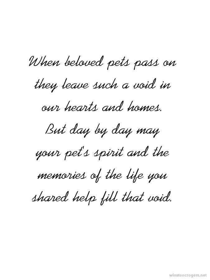Sympathy dog loss quotes - photo#49