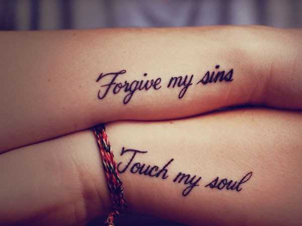 Tattoo deep meaning quotes quotesgram for Meaningful quote tattoos