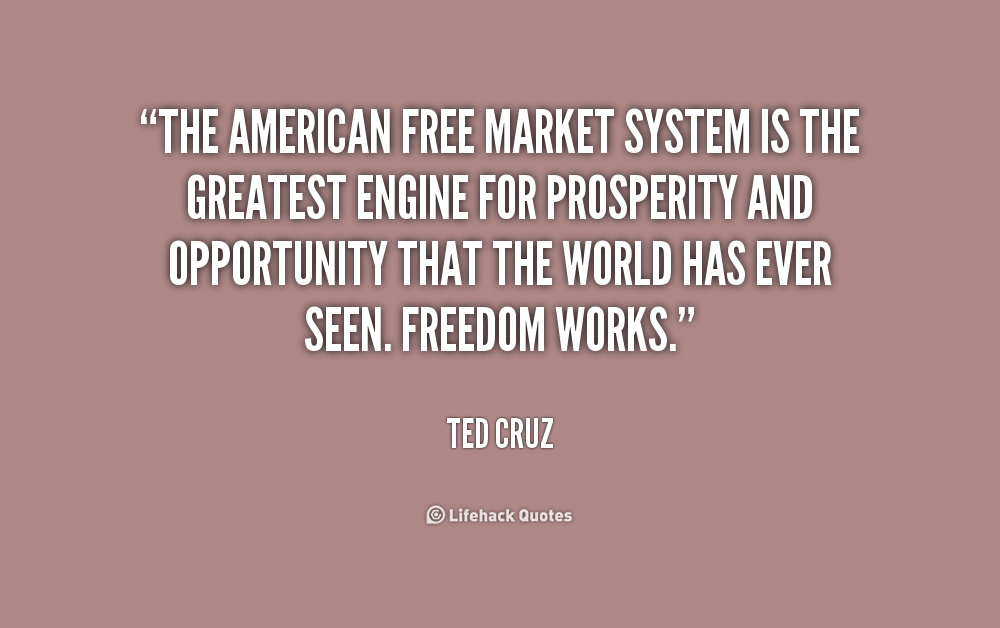 a free market system is the Britain's free market economy isn't working to go to the wall for the sake of their free market the existing banking system under the direction.