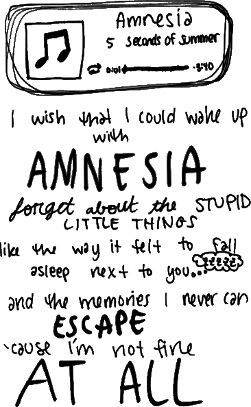 5sos Quotes Amnesia Texts Quotesgram