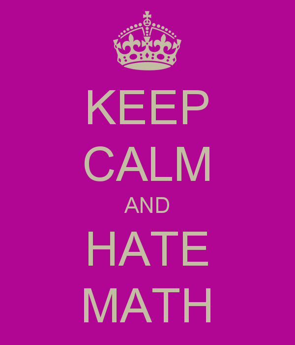 Quotes About Hating Math: Dislike Math Quotes. QuotesGram