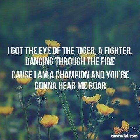 Roar like a lion lyrics
