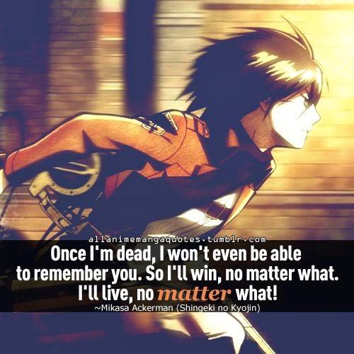Epic Anime Quotes. QuotesGram
