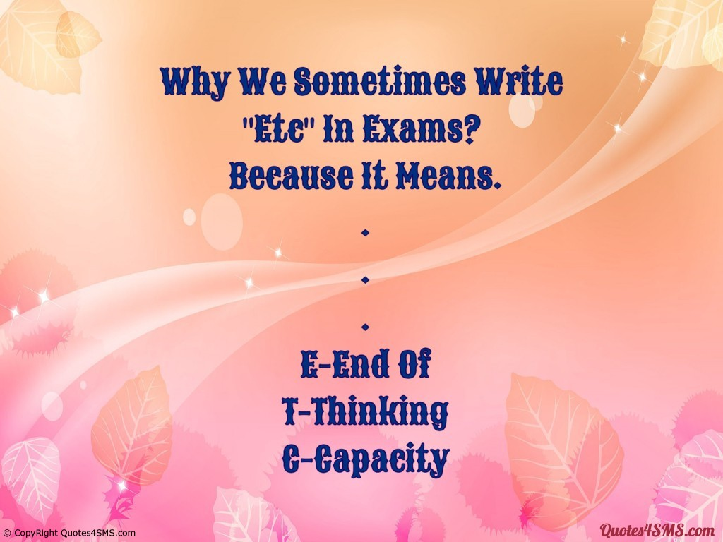 Exam Quotes For Students. QuotesGram
