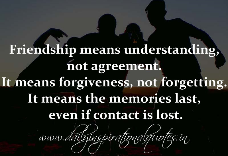 Quotes About Lost Friendship Quotesgram: Friendship Forgiveness Quotes. QuotesGram