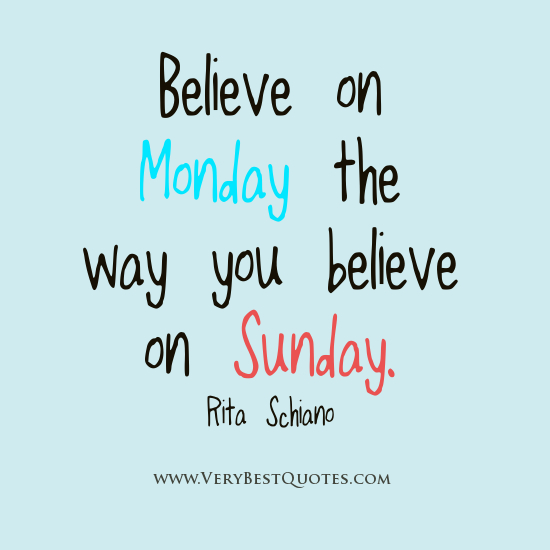 Positive Quotes About Monday. QuotesGram