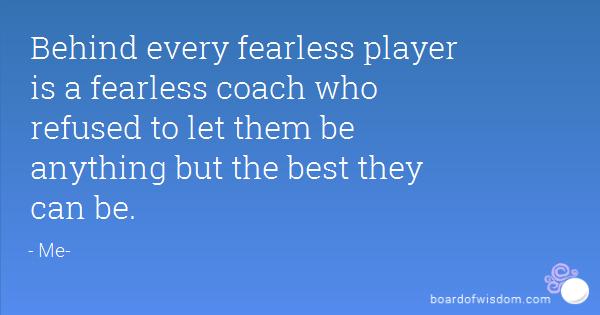 coaches quotes  quotesgram