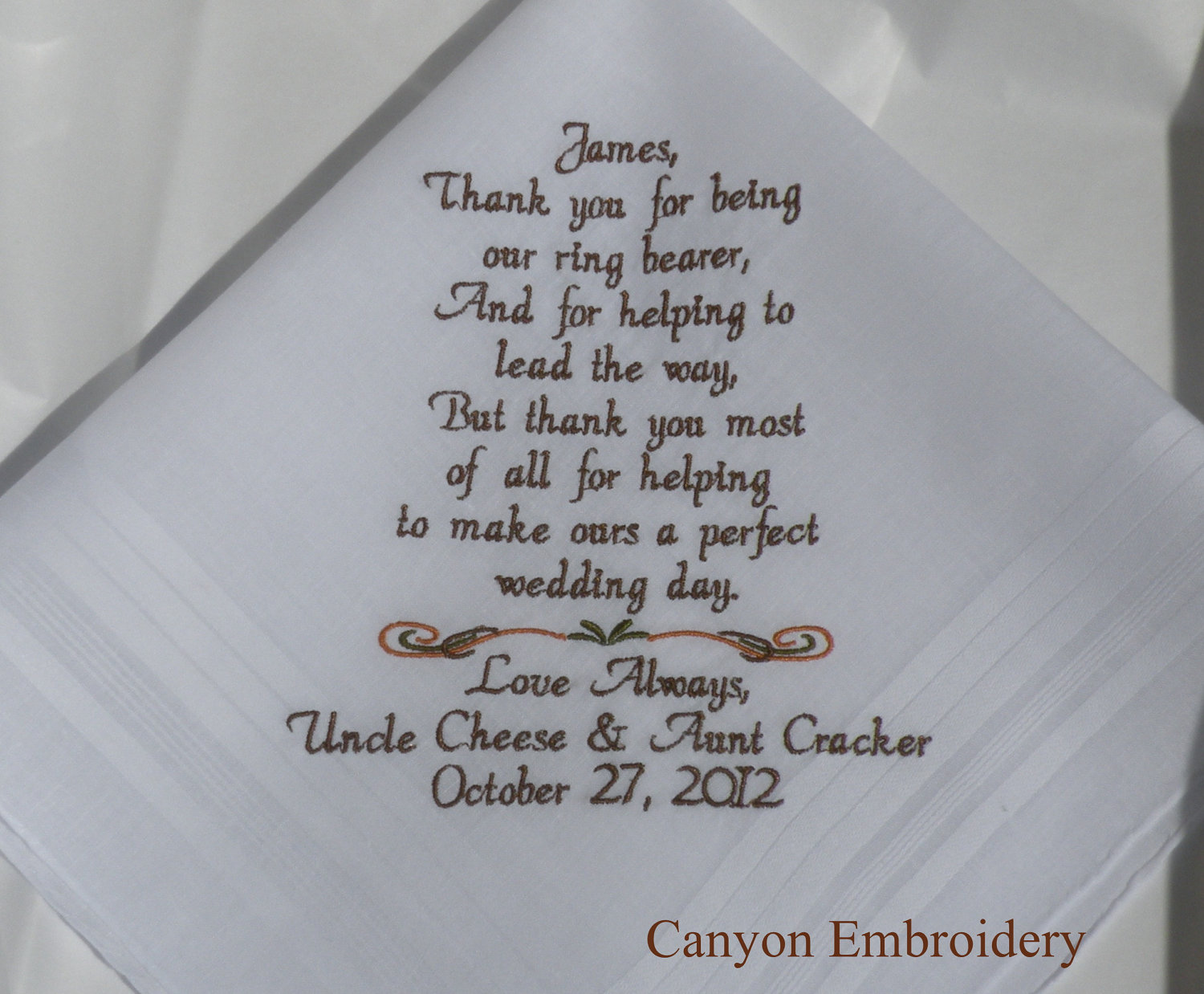 Funny Thank You Poem For Wedding Gifts - Wedding Invitation Sample