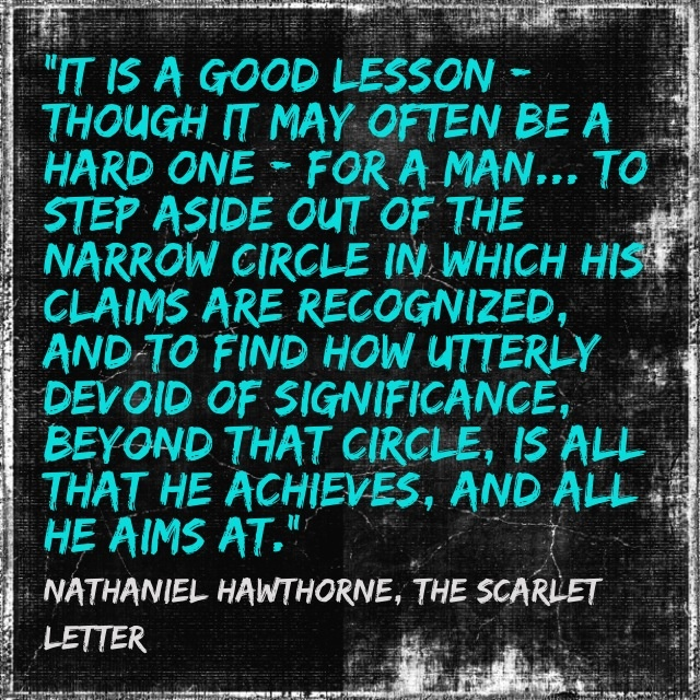 romanticism in the scarlet letter A scarlet romanceit is the year 1644, boston massachusetts, and the stage is set  for one of the most famous romance novels of our time the scarlet letter, by.