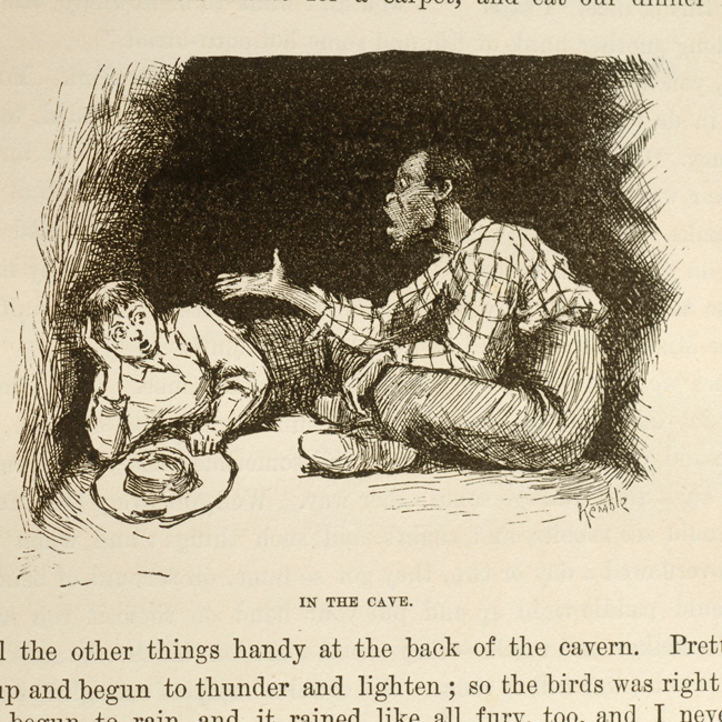 huckleberry finn and religion essays Mark twain uses his novel, the adventures of huckleberry finn, to explore and satirize many problems facing american society as religion, civilization, and mob mentality: to prove a point and to try to change the reader's opinion about the subject.