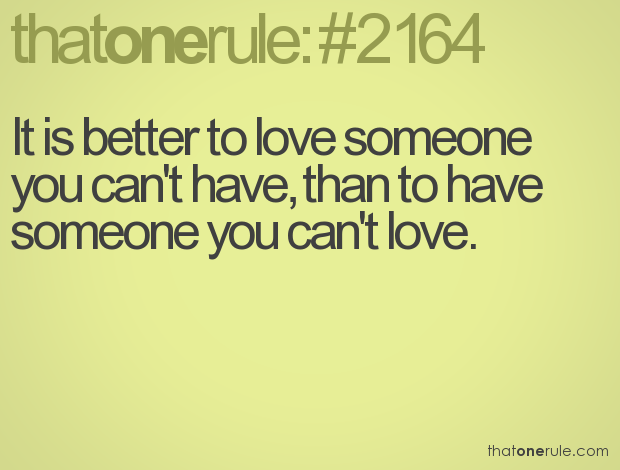 Can love i t 6 Signs