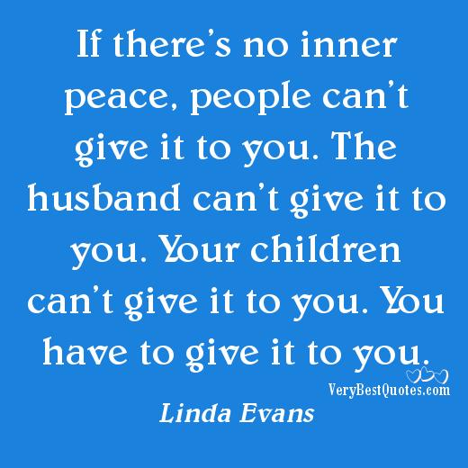 Teach Peace Quotes: Peace Of Mind Quotes. QuotesGram