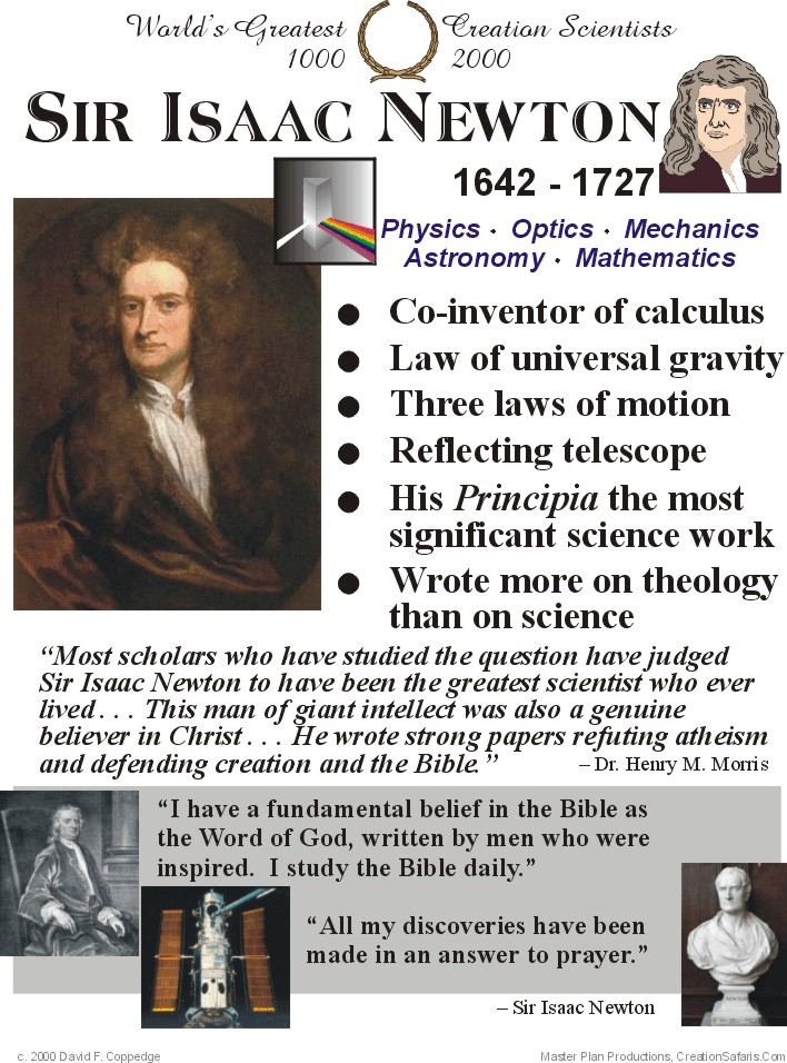 a review of the life and works of sir isaac newton and john locke