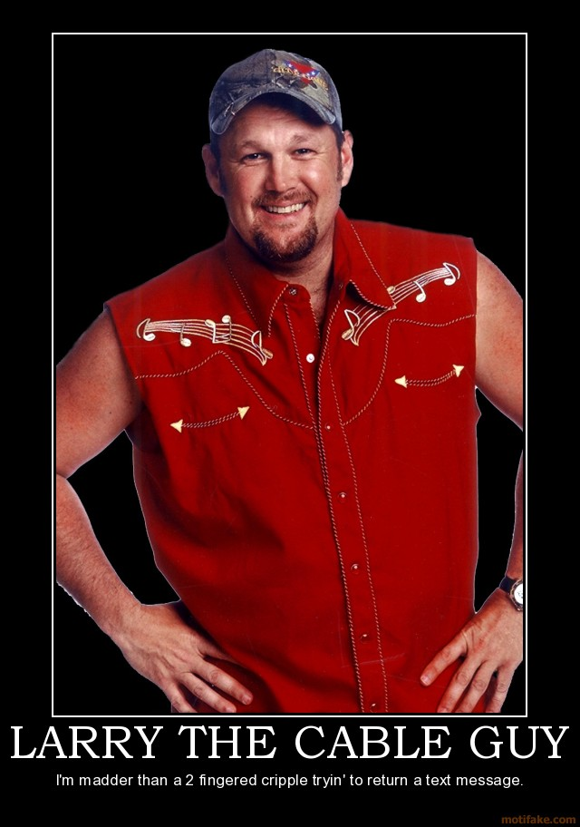 Larry cable guy the movie