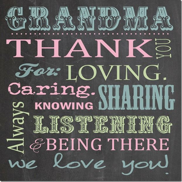 Quotes For Grandma Mothers Day Chalkboard Quotesgram
