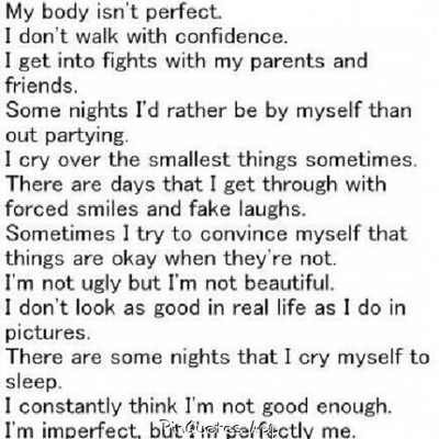 Quotes On Not Being Insecure. QuotesGram