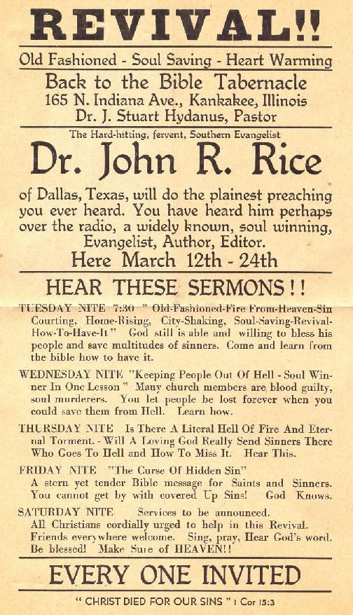Church Revival Quotes Quotesgram