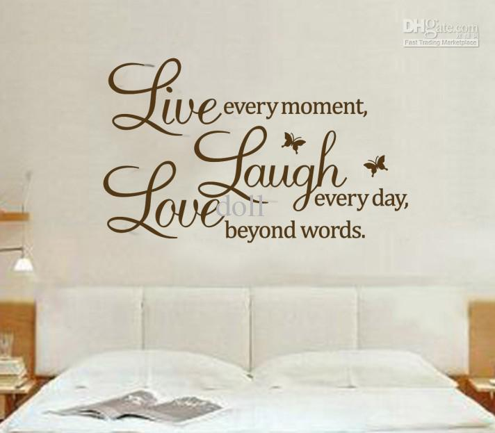 Nursery wall decals quotes quotesgram for Decoration quotes sayings