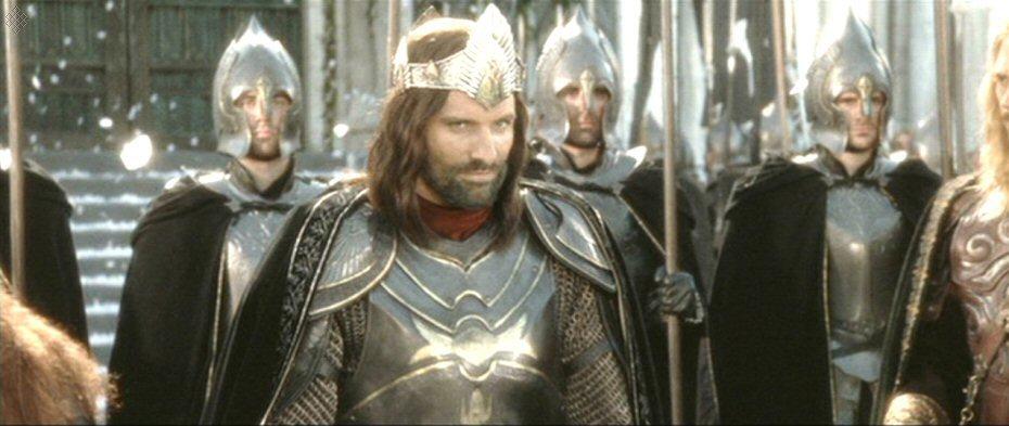 Return Of The King Aragorn Aragorn Return Of The ...
