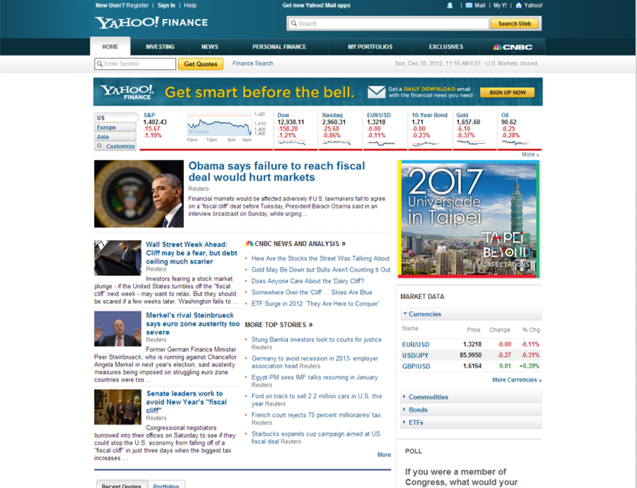 Stock options quotes yahoo