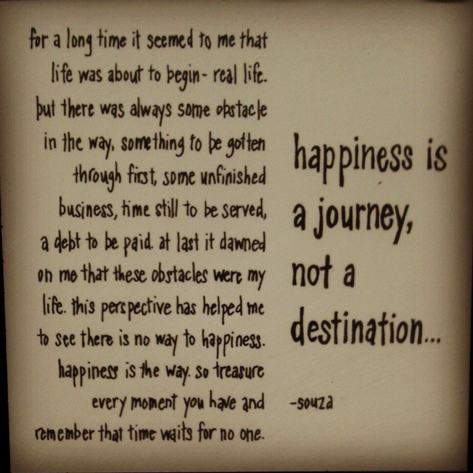 Thanks For The Journey Quotes Quotesgram