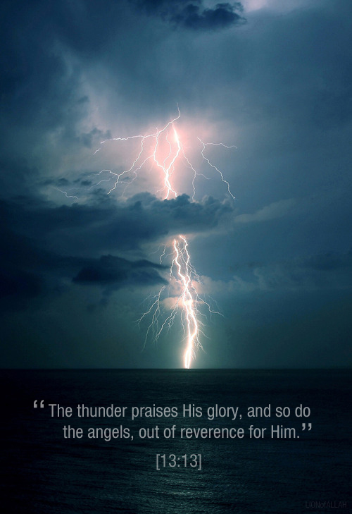 lightning and thunder relationship