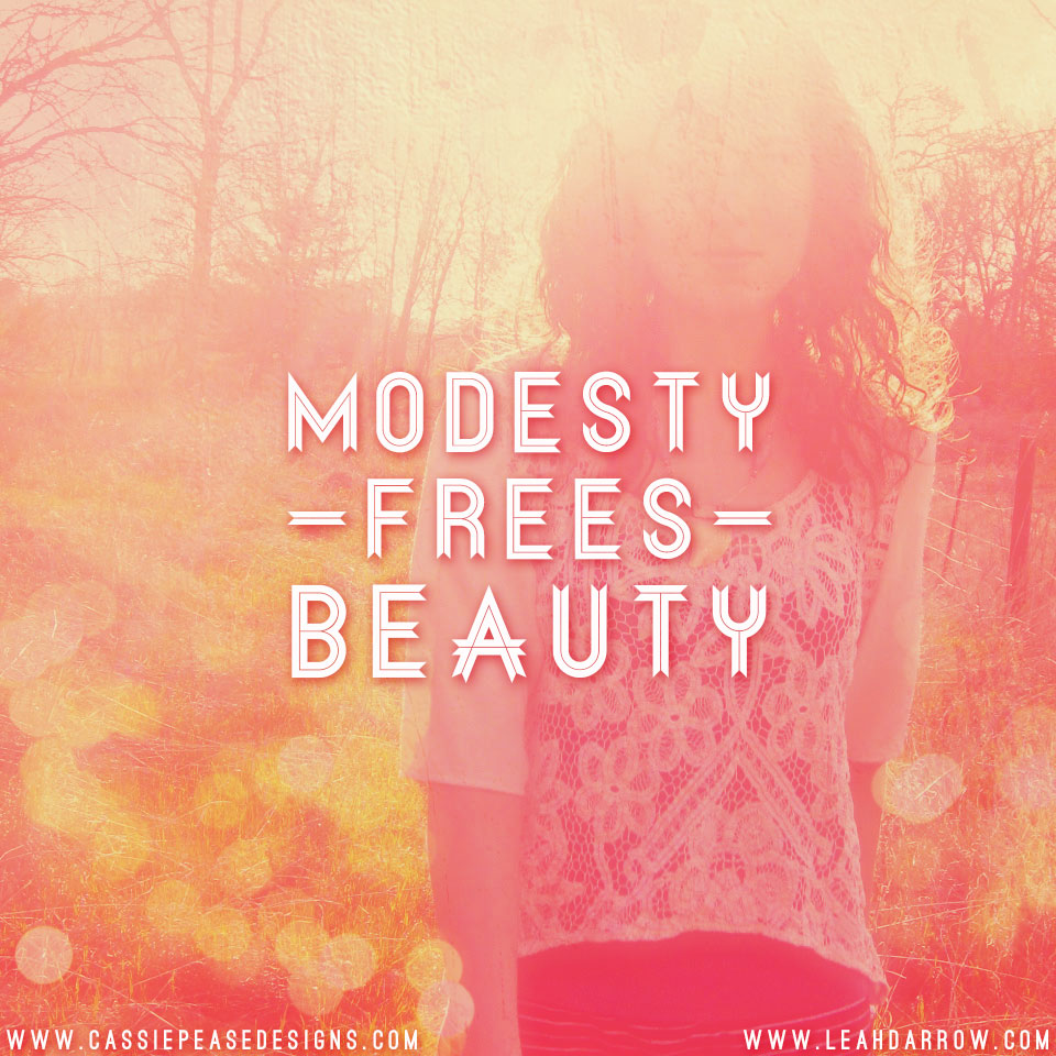 Biblical Modesty (and why its a big deal) - MOTHER HEN FIVE