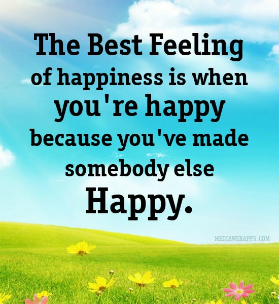 Feeling Happy Quotes: Feeling Blessed And Happy Quotes. QuotesGram