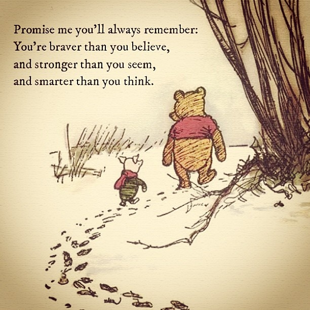 Winnie The Pooh Quotes Bravery Quotesgram