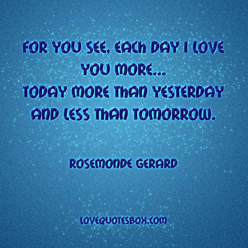 Love Finds You Quote: Quotes I Love You More. QuotesGram