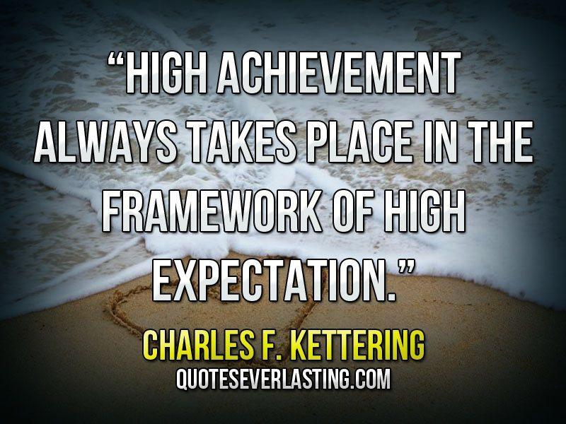 High Achievement Quotes. QuotesGram