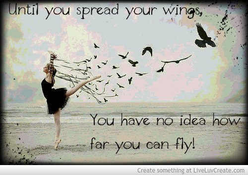 Quotes About Chicken Wings Quotesgram: Quotes About Spreading Your Wings. QuotesGram