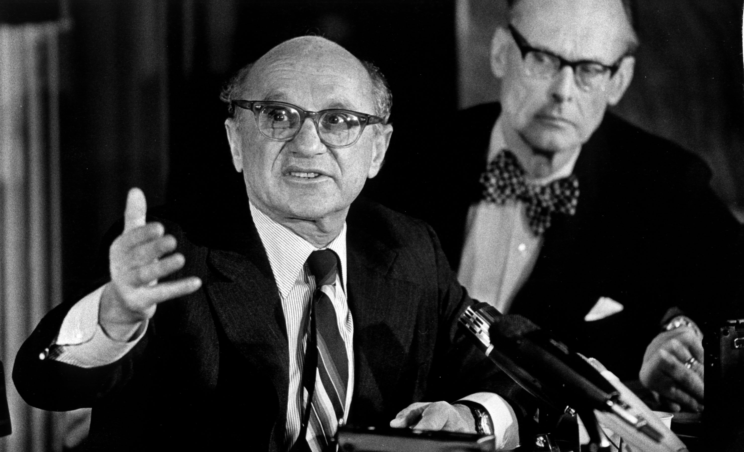analysis of milton friedman Milton friedman article addresses the role that businesses play in the society and the wider economy the authorargues that the sole purpose of any business is to generate profits for its shareholders.