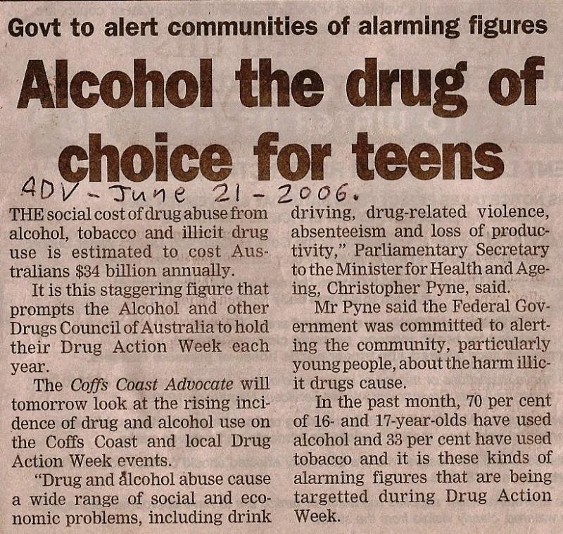 teenage and alcohol essay