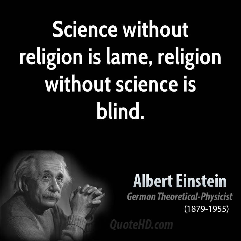 Albert Einstein Quotes: Famous Quotations on Religion ...
