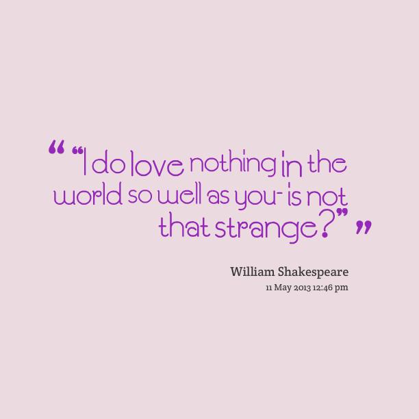 Strange Love Quotes. QuotesGram
