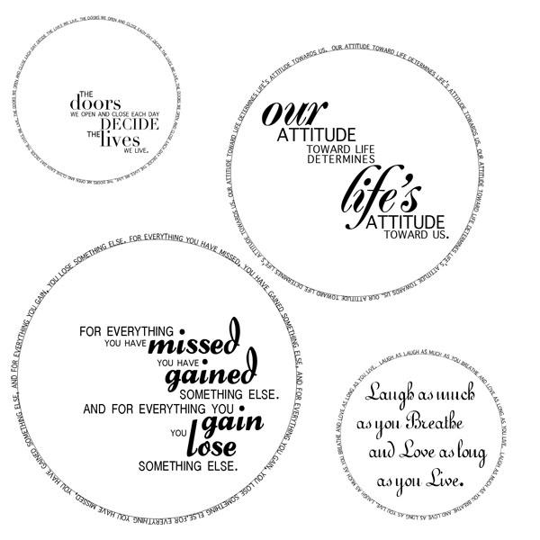 circular quotes  quotesgram