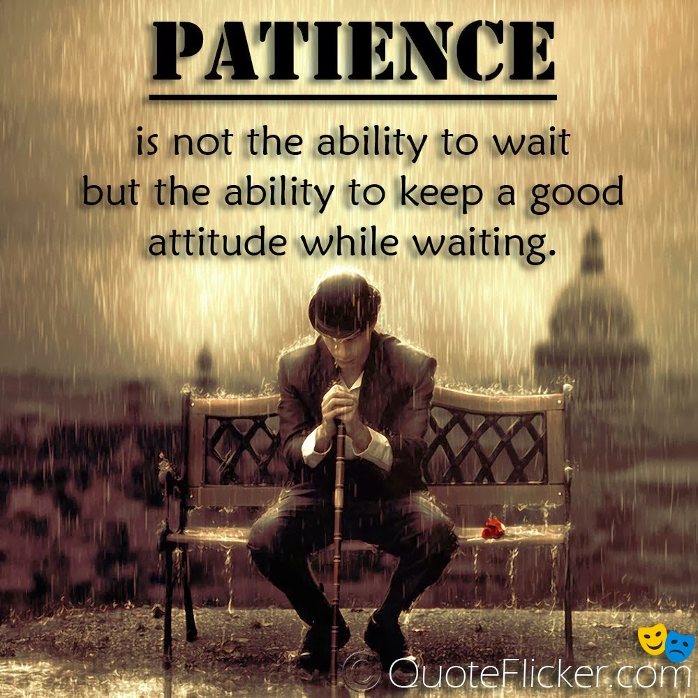Persistence Motivational Quotes: Sarcastic Quotes About Patience. QuotesGram