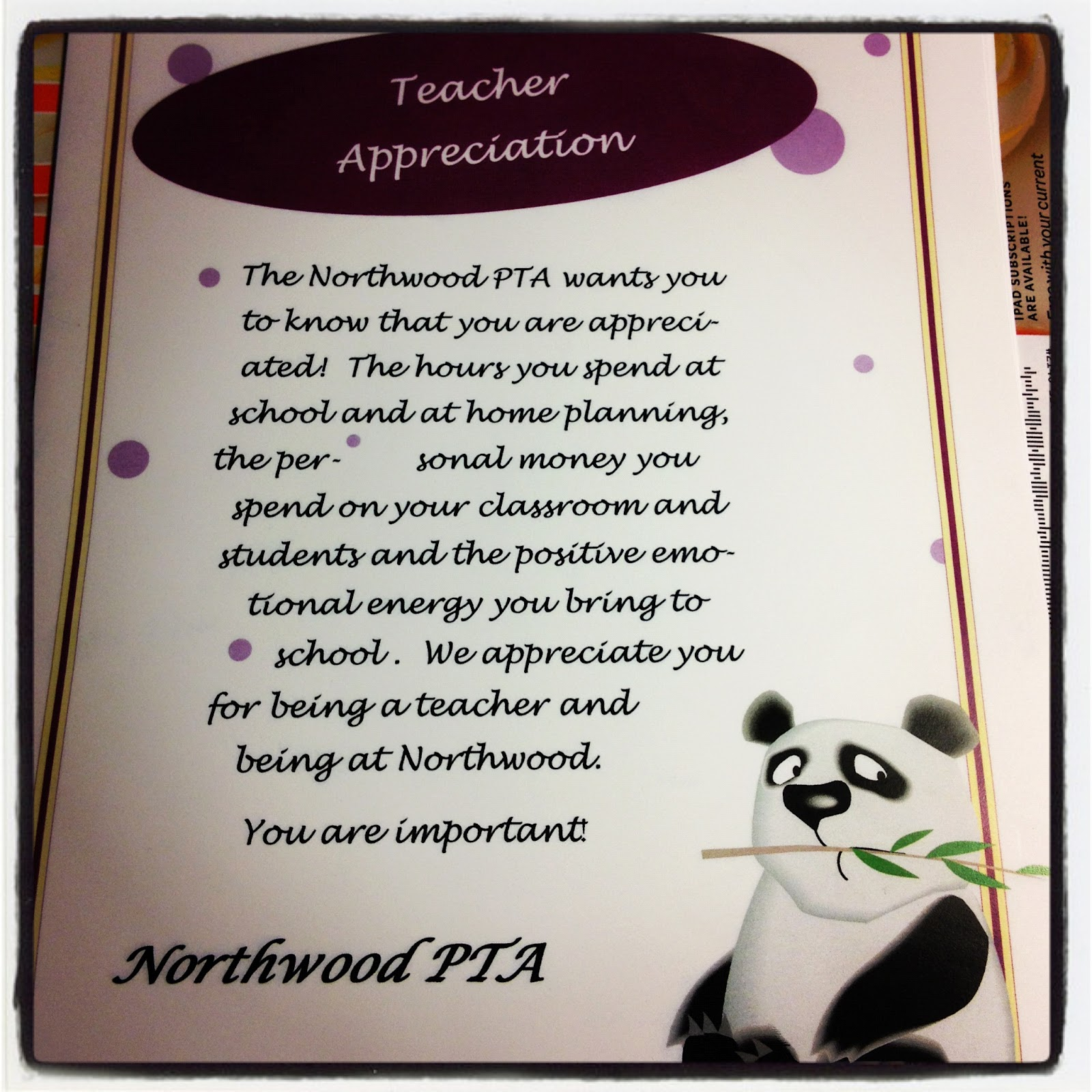 Student Thanking Teacher Quotes: Quotes About Thanking Parents From Teacher. QuotesGram
