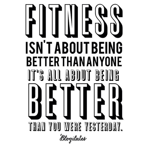 Being Fit Quotes For Motivation: Quotes About Being Better Than Someone Else. QuotesGram