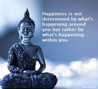 Image result for happiness is within you quotes