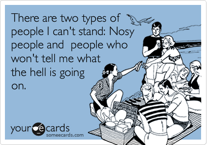 Funny Quotes About Nosey People Quotesgram