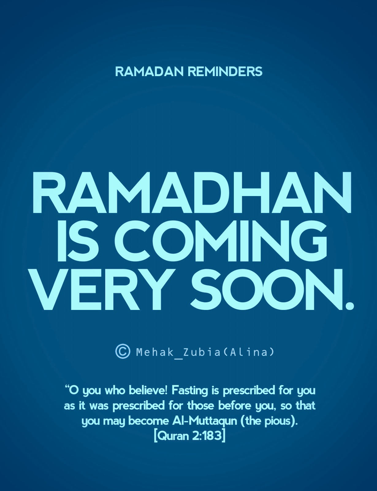 The month of ramadan essay