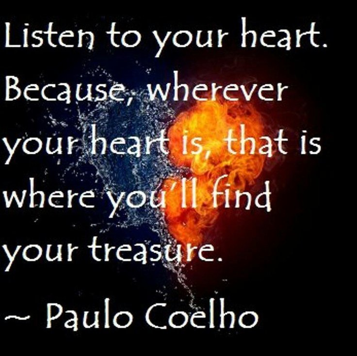 Follow Heart Or Mind Quotes: Always Follow Your Heart Quotes. QuotesGram