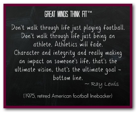 Quotes About Ray Lewis Game: Famous Quotes From Ray Lewis. QuotesGram