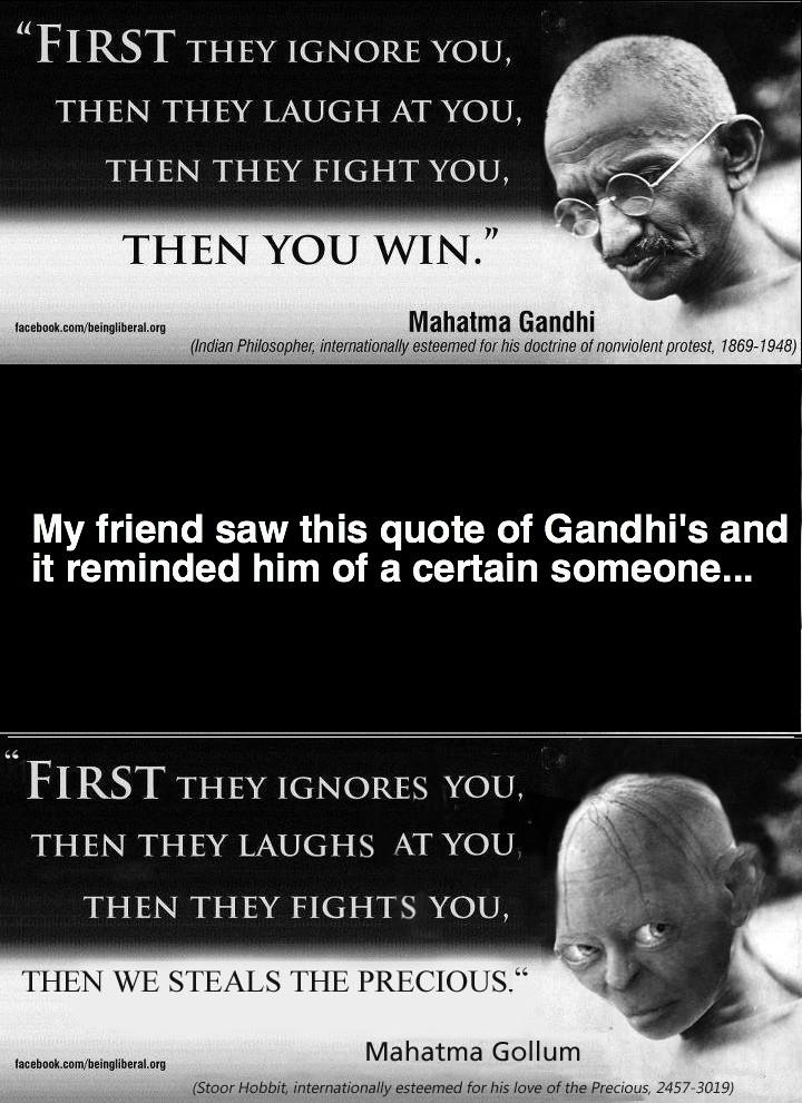 Gollum Funny Quotes. QuotesGram