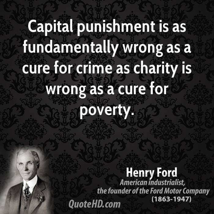 capital punishment is wrong