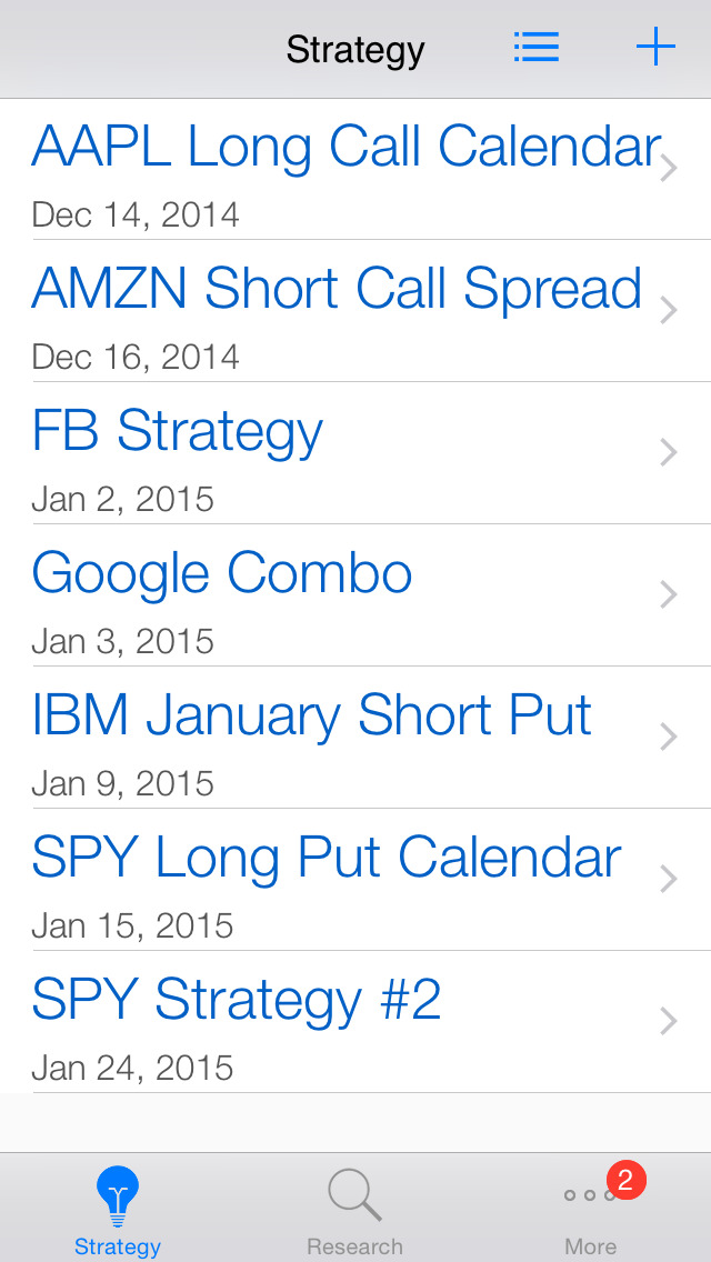 Stock options live quotes