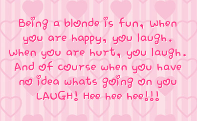 Quotes About Being Blonde QuotesGram