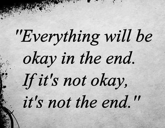 The End Quotes And Sayings. QuotesGram